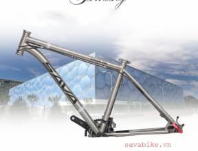 Sản xuất khung xe đạp Tiatan như thế nào?