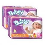 Boby Tã Newborn 2 60 miếng T6