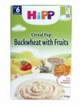 HiPP bột ăn dặm 250g Bắp Sữa,Hoa Quả