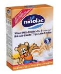 Ninolac bột ăn dặm 200g trái cây