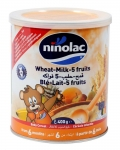 Ninolac bột ăn dặm 400g trái cây