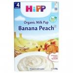 Hipp bột ăn dặm 250g Chuối Đào Sữa