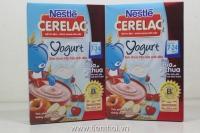 Nestle bột ăn dặm 200g s.chua, táo