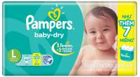Pampers dán l60 miếng T4