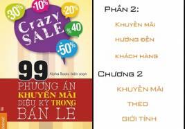 """99 chiêu khuyến mãi """"vi diệu"""" trong bán lẻ: Phần 2- Chương 2"""