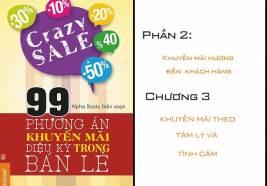 """99 chiêu khuyến mãi """"vi diệu"""" trong bán lẻ: Phần 2- Chương3"""