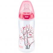 Bình sữa bằng nhựa PP 300 ml Silicone số 1 Nuk - 741349
