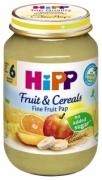 Dinh dưỡng đóng lọ Ngũ cốc chuối, cam, táo, xoài Hipp (190g)  - 4800