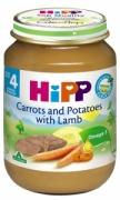 Dinh dưỡng đóng lọ Thịt cừu, cà rốt, khoai tây Hipp (190g) - 6123