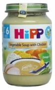 Dinh dưỡng đóng lọ Súp thịt gà, rau tổng hợp Hipp (190g) - 7973