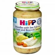 Dinh dưỡng đóng lọ Mì Tagliatelle - Súp lơ xanh Hipp (220g) - 6403