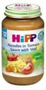 Dinh dưỡng đóng lọ Thịt bê, mì sợi, cà chua Hipp (220g) - 6833