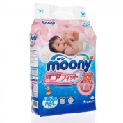 Bỉm Moony dán M64 (6-11kg)