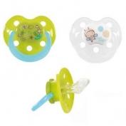 Ti giả có móc bằng silicone cho trẻ em (6-36m) vỉ 2c Bebe confort