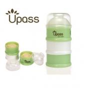 Hộp đựng sữa 3 ngăn bằng nhựa - UP8002C