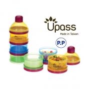 Hộp đựng sữa UPASS 3 ngăn có bộ chia - UP8011C