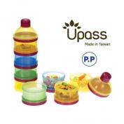 Hộp đựng sỮa UPASS 4 ngăn có bộ chia - UP8013C