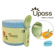 Hộp giữ ấm thức ăn không BPA 300 cc có thìa và dĩa (nĩa)- UP9551Y