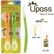 Bộ 2 thìa ăn dặm UPASS siêu mềm không BPA - UP3022