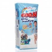 Bỉm quần nội địa GOON bé trai size XL-40