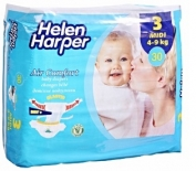 Tã dán Helen Harper 4-9kg (30 miếng)