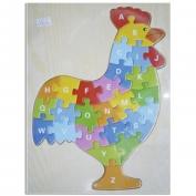 Tranh ghép hình con gà CA610