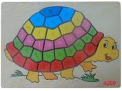 Tranh ghép hình con rùa CA607