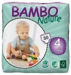 Tã dán - bỉm Đan Mạch Bambo Nature Maxi 4 L30 - cho bé từ 7-18kg