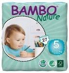 Tã dán - bỉm Đan Mạch Bambo Nature Junior 5 XL27 - cho bé từ 12-22kg