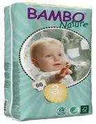 Tã dán - bỉm dán Đam Mạch gói lớn Bambo Nature Midi 3 M66: cho bé từ 5-9kg