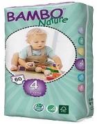 Tã dán - bỉm Đan Mạch gói lớn Bambo Nature Maxi 4 L60 - cho bé từ 7-18kg