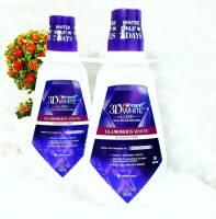 Nước súc miệng CREST 3D GLAMOROUS WHITE ALCOHOL FREE 946ML