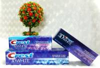 Kem đánh răng CREST 3D WHITE FLUORIDE ANTICAVITY TOOTHPASTE 198g