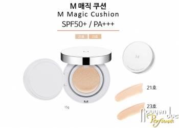 Kem nền chống nắng MISSHA M Magic Cushion SPF50+/PA+++