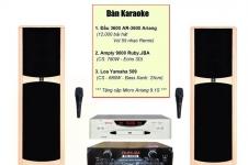 Cách lắp đặt và điều chỉnh dàn Karaoke