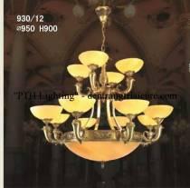 Đèn Chùm Đồng 930/12 tay