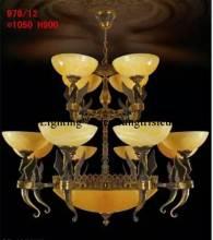 Đèn Chùm Đồng 978/12 tay