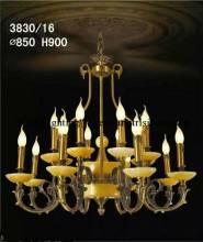 Đèn Chùm Đồng 3830/16 tay