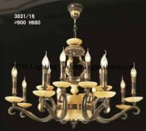 Đèn Chùm Đồng 3831/16 tay