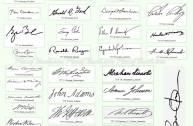 Chữ ký phong thủy - Tài vận và công danh