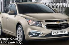 [Review - Đánh Giá]  Đánh giá xe Chevrolet Cruze 2016: Mẫu Sedan mới, đẳng cấp mới