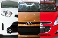 [So sánh] Chevrolet Spark, KIA Morning, Huyndai i10, 3 ô tô thuộc phân khúc A hot nhất thị trường.