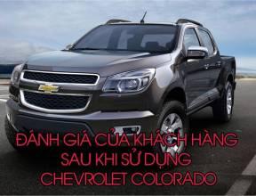 Đánh giá của khách hàng sau khi sử dụng Chevrolet Colorado