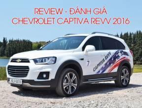[Đánh giá - Review] Chevrolet Captiva REVV 2016 mới