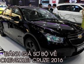 [Review - Đánh Giá] Đánh giá sơ bộ về Chevrolet Cruze 2016