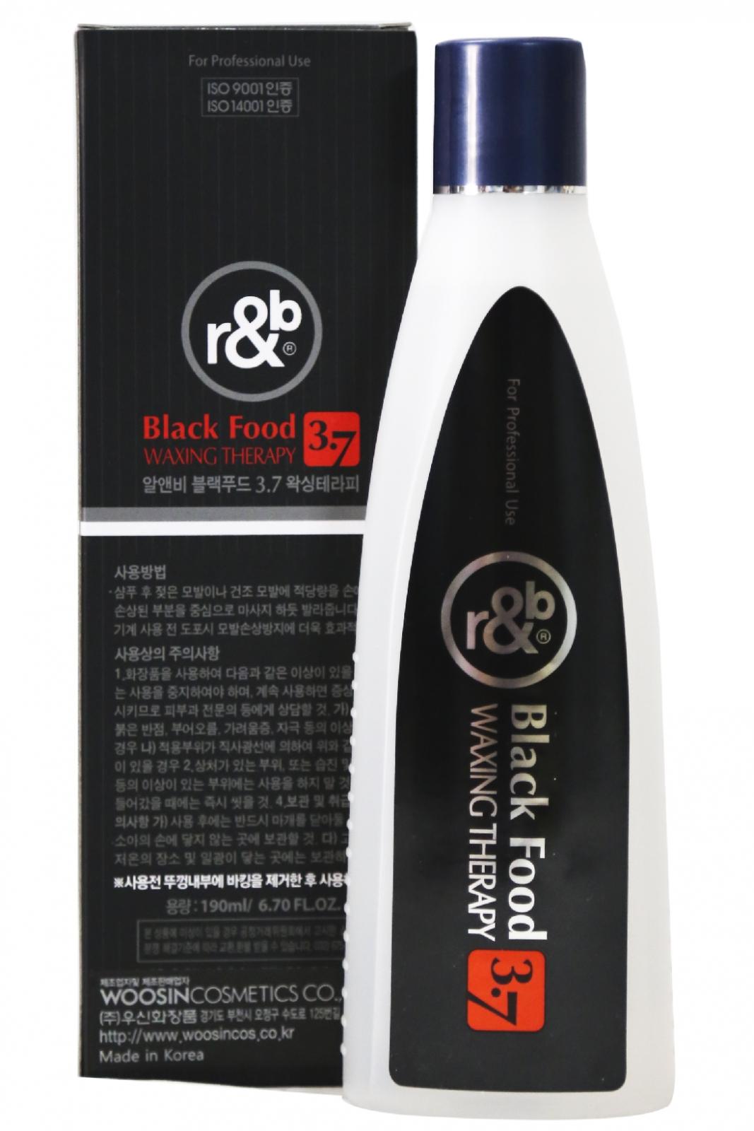 Wax dưỡng bóng tóc thảo dược r&b Black Food