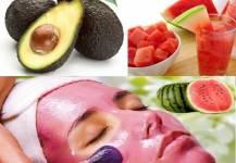 8 cách dưỡng da ít người biết từ cùi, ruột dưa hấu