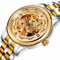 Đồng hồ nam máy cơ AIERS B125G mặt chạm rỗng thiết kế tinh xảo