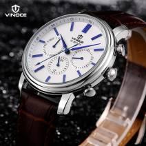 Đồng hồ nam chính hãng thời trang cao cấp VINOCE V8371-02 máy japan