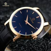 Đồng hồ nam Vinoce V3268 dây da cao cấp